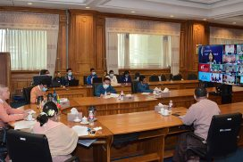 Myanmar parliamentary representatives attend 11th AIPA Caucus