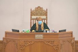 Pyithu Hluttaw raises queries to ministries, approves bill, tables motion