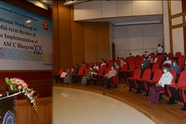 National workshop on submitting mid-term review of Implementation of ASCC Blueprint 2025 held in Nay Pyi Taw