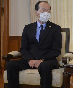 Ambassador Mr Maruyama Ichiro. Photo: Kyaw Zaya