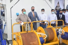 Two cutter suction dredgers-CSD 500 handed over to Directorate of Water Resources and Improvement of River Systems