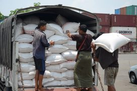 Rice export prices drop for two consecutive months