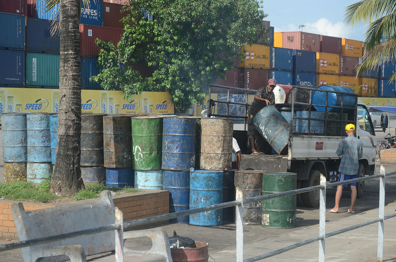 Local investments mostly go into industrial sector in ten months of current FY.Photo : Phoe Khwar