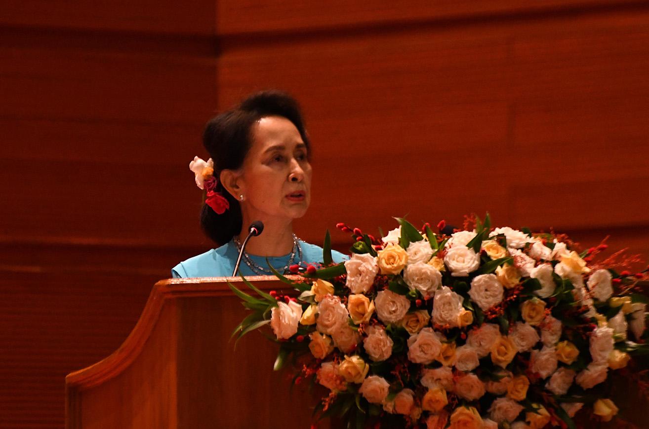 State Counsellor Daw Aung San Suu Kyi