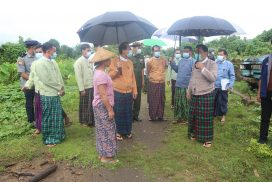 MSWRR provides support to IDPs in Kachin