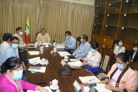 Union Minister U Soe Win holds virtual meeting with US-ASEAN Business Council