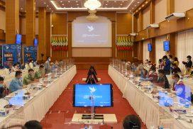JICM preliminary meeting held at NRPC in Nay Pyi Taw