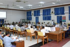 Vice President U Henry Van Thio presides over coordination meeting on disaster preparedness, possible food shortages