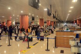 Myanmar citizens stranded in Australia arrive back home by relief flight