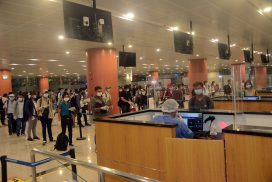 166 Myanmar citizens fly back home from Malaysia