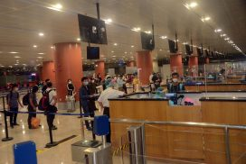 Myanmar brings 122 nationals back home from India by relief flight