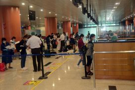 170 Myanmar nationals fly back home from Malaysia