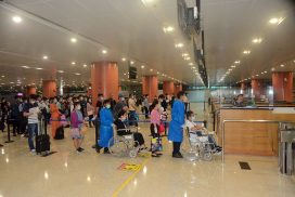 164 Myanmar citizens fly back home from Malaysia
