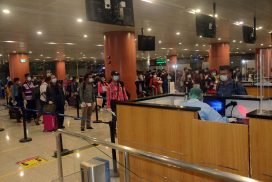 162 Myanmar nationals fly back home from Malaysia