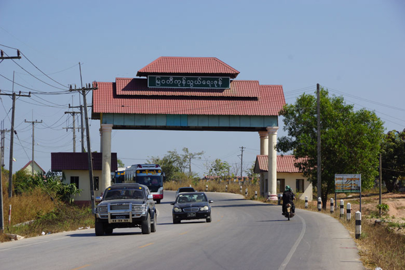 Myawady Trade Zone is Myanmar s second largest border trading post. Photo Htein Lin Aung IPRD 0