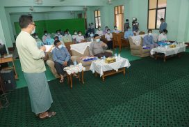 Union Minister Dr Win Myat Aye stresses importance of sports, music, reading for youth rehabilitation centres