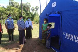Govt provides relief assistance to central Myanmar flood victims
