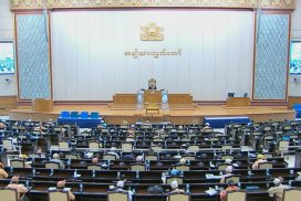 Amyotha Hluttaw raises queries to three ministries, hears motion