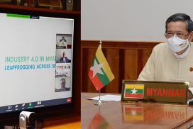 Union Minister Dr Myo Thein Gyi joins Industry 4.0 Myanmar online discussions