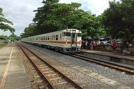 MR temporarily suspends Yangon-Mawlamyine trains