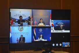 Union Minister U Kyaw Tin participates in Tenth Mekong-ROK Foreign Ministers' Meeting
