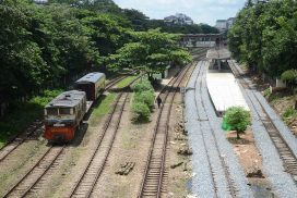 Upgrade to Yangon circular railway stations nearing completion