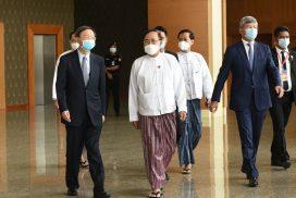Senior Chinese diplomat makes official visit to Myanmar