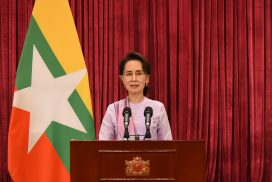 State Counsellor updates government measures against COVID-19 pandemic