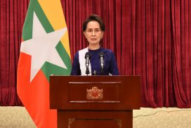 State Counsellor reports to people about latest  COVID-19 situation