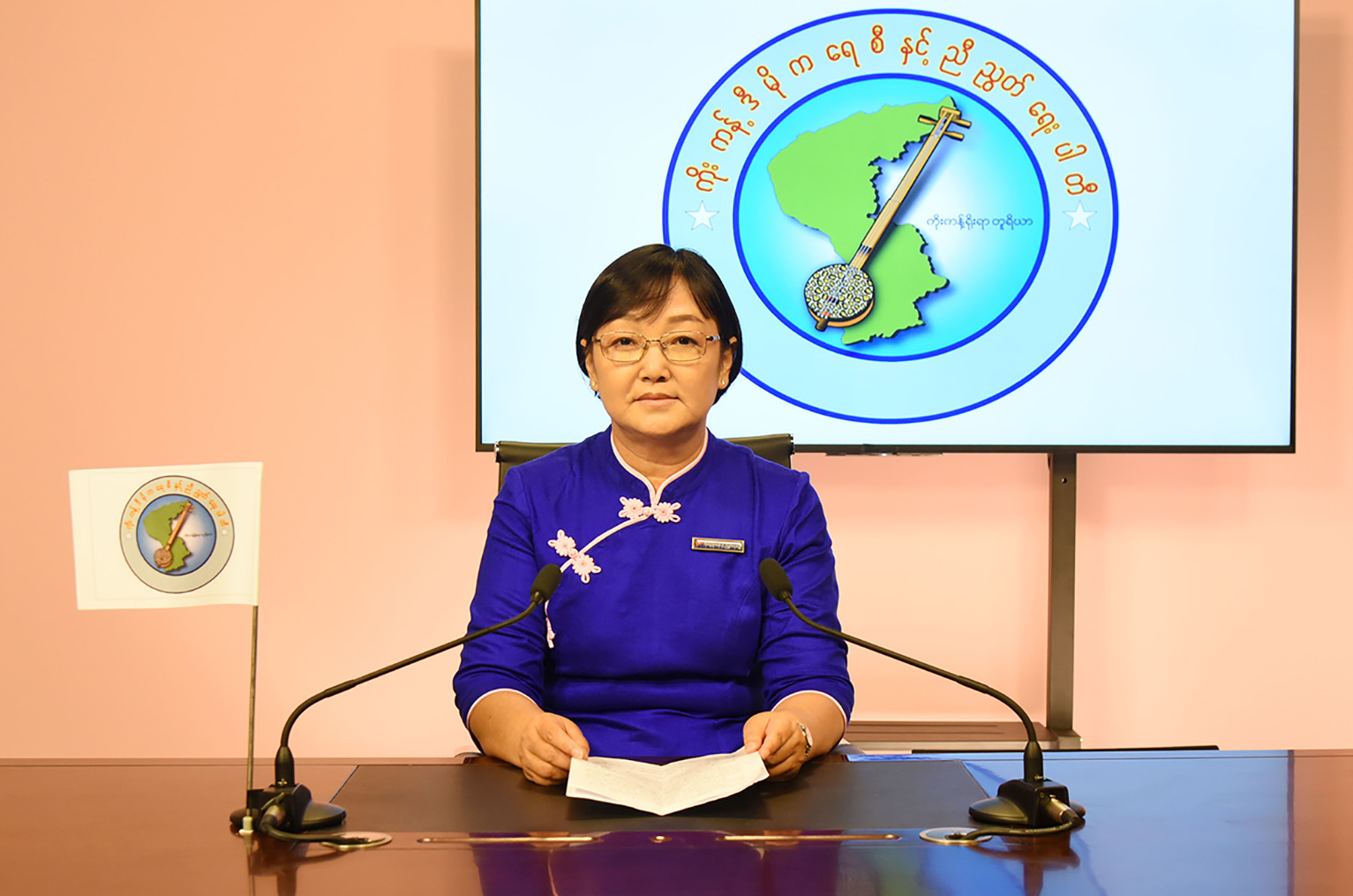 Kokant Democracy and Unity Party Vice Chairperson Daw Yin Yin May