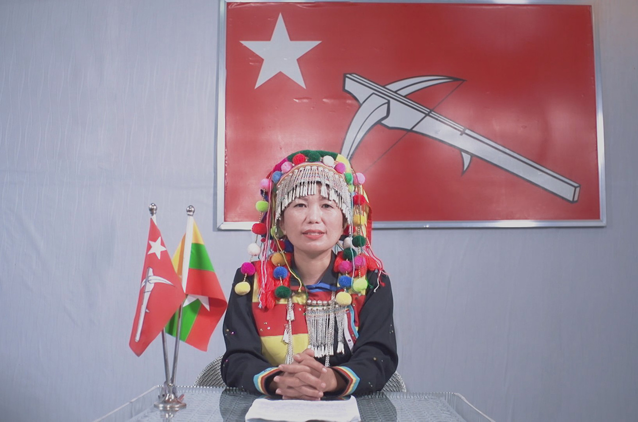 Lisu National Development Party L.N.D.P executive committee member Daw Betty Yarn