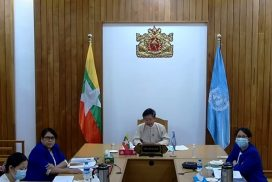 Myanmar participates in regional conference to plan responses and recovery work on twin pandemics of COVID-19 and hunger