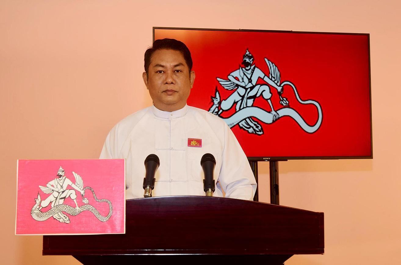 Myanmar Farmers Development Party Chairman U Kyaw Swar Soe