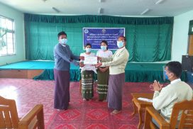MoSWRR provides CERP cash assistance to IDPs in MraukU, Rakhine
