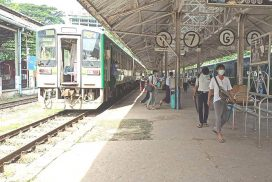 Number of carriages in Yangon City Circular Trains to be reduced