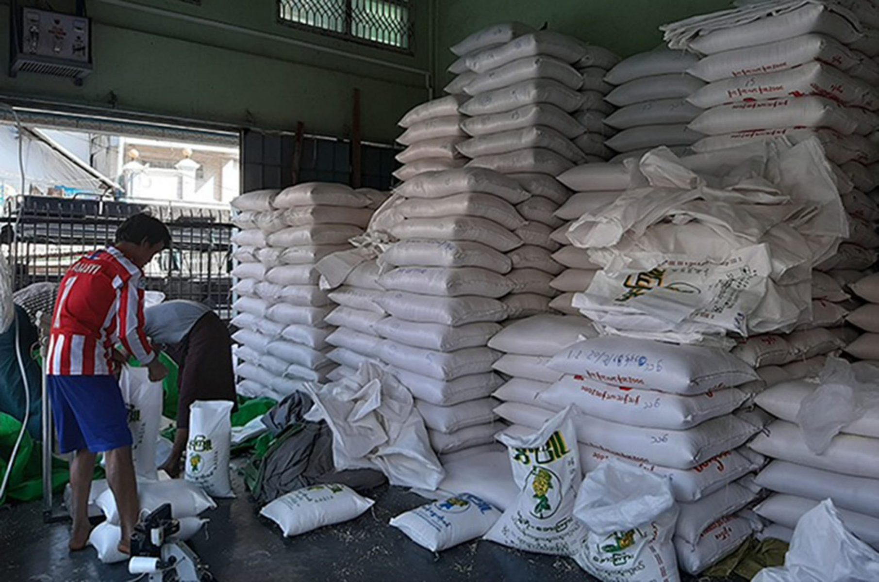 Over 47 000 Bags Reserved Rice Sold At Fairer Price Within 2 Months Global New Light Of Myanmar