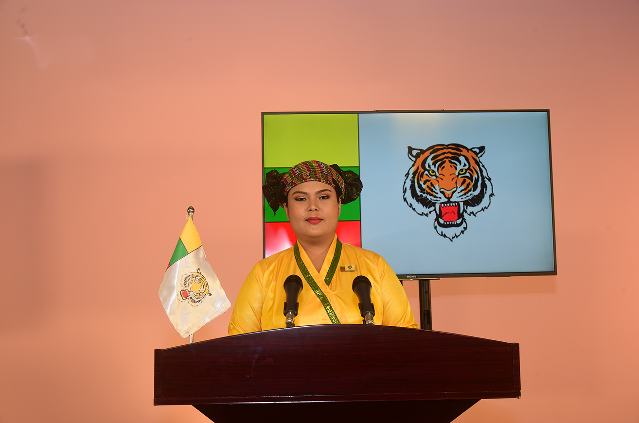 Shan Nationalities League for Democracy SNLD Party Central Executive Committee Member Nan Nwe Cho Oo
