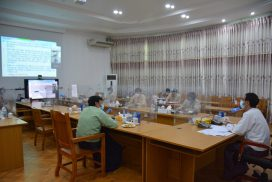 Land administration central committee holds 30th coordination meeting