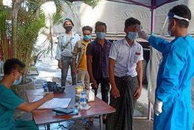 38 Myanmar nationals enter Chinshwehaw border town in returning home