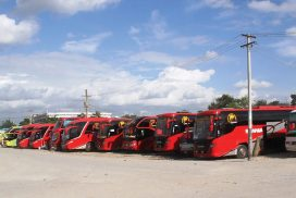 Highway buses shift to freight transport