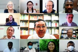Myanmar pre-service teacher training steering committee holds online meeting