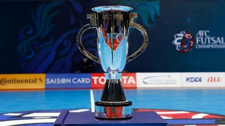 AFC Futsal Asian Cup trophy