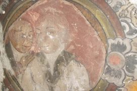 Mural paintings in ancient Inwa city attract visitors