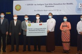 MoHS receives COVID-19 Antigen Test Kits, PPE donations