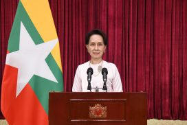 Congratulatory message from State Counsellor Daw Aung San Suu Kyi at Centenary Anniversary celebrations of Myanmar film industry
