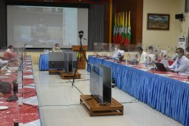 MoHS discusses COVID-19 control measures in Yangon