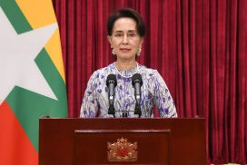 State Counsellor reports on containment  measures against COVID-19