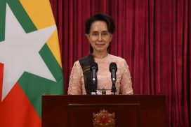 State Counsellor reports latest situation on COVID-19