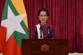 State Counsellor reports on measures against COVID-19