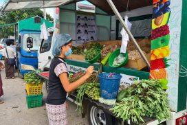 Mobile market starts in Yankin, North Dagon, Tamway townships
